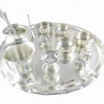 Pooja Thali set, pooja thali silver, pooja thali decoration, Pooja Thali for home, pooja thali set silver, return gifts for housewarming