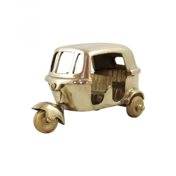 Brass Auto Rickshaw for home decor figurine