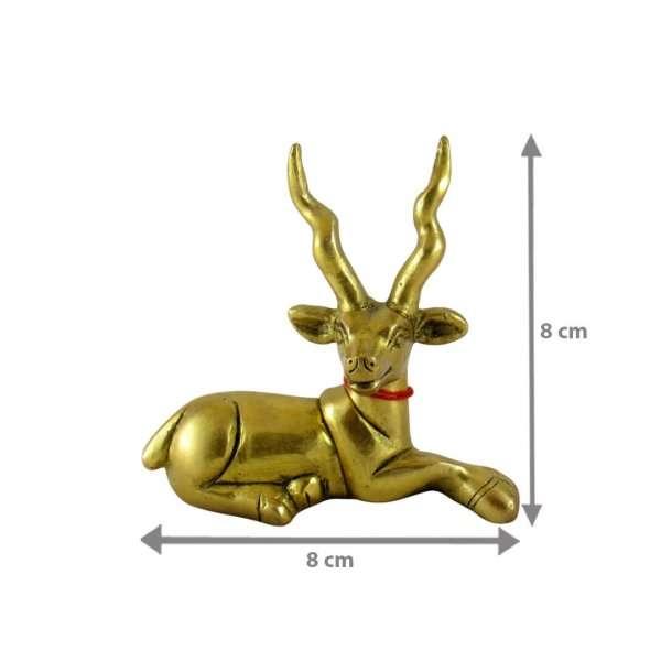 Brass Deer vastu brass deer statue brass deer figurine brass deer décor brass deer pair brass deer set pair of brass deer