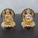 Lakshmi Ganesh idol, silver Lakshmi ganesh idol, Lakshmi ganesha idols for diwali, lakshmi ganesh statue, ganesh laxmi statue, diwali pooja laxmi ganesh idol