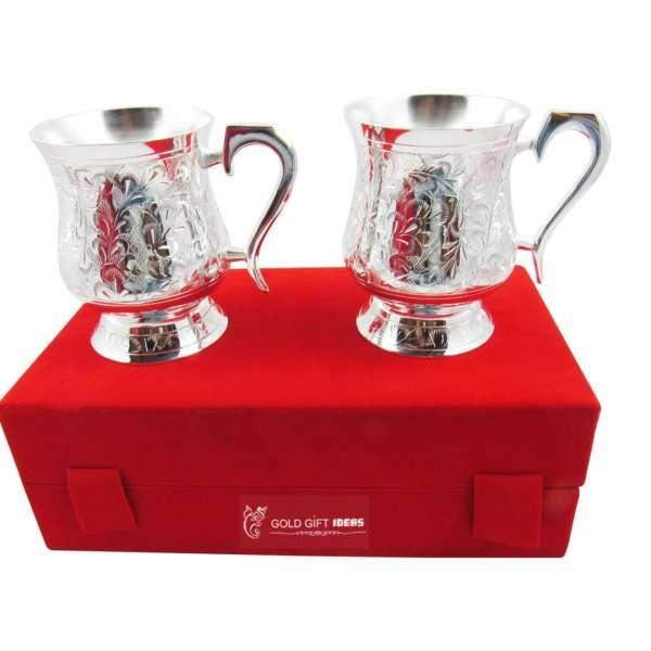 Gold plated coffee mug, Coffee mug set, coffee mug set of 2, coffee mug for gift, gold plated coffee cups, coffee mug for friend, brass coffee mug, brass coffee tumbler