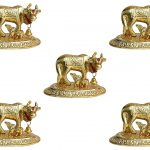 White metal cow and calf cow and calf statue cow and calf idol vastu cow and calf statue in pooja room white metal cow and calf statue white metal small cow