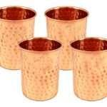 Copper glass set copper glass water copper glass for water copper glass for drinking water pure copper glass set copper glass set of 2