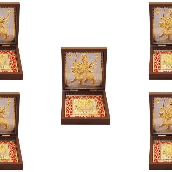 Ambe maa photo frame, Ambe maa photo hd, Durga maa photo frame, wooden maa durga photo frame, maa durga photo with quotes, maa durga photo with mantra, Durga maa image with lion, Ambe maa frame with charan paduka, return gifts