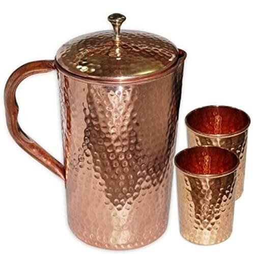 Copper jug for water copper jug for drinking water Copper water jug copper water jug and tap copper jug water copper jug for water copper jug for drinking water copper jug with lid copper pitcher jug copper jug pitchers Copper jug glass set, copper jug and glass set, copper jug and glass combo, copper jug with 4 luxury glass set for ayurvedic healing