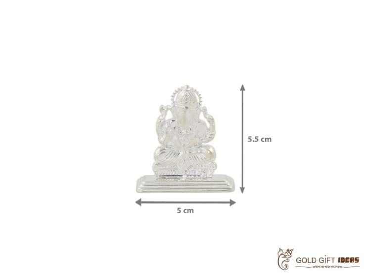 Pure silver Ganesh idol, pure silver Ganesh murti, pure silver Ganesha, pure silver Ganesh idol for gift, pure silver ganesh laxmi murti, pure silver pooja items, pure silver gift items, pure silver gift items for marriage, pure silver gift items for housewarming, pure silver gift articles
