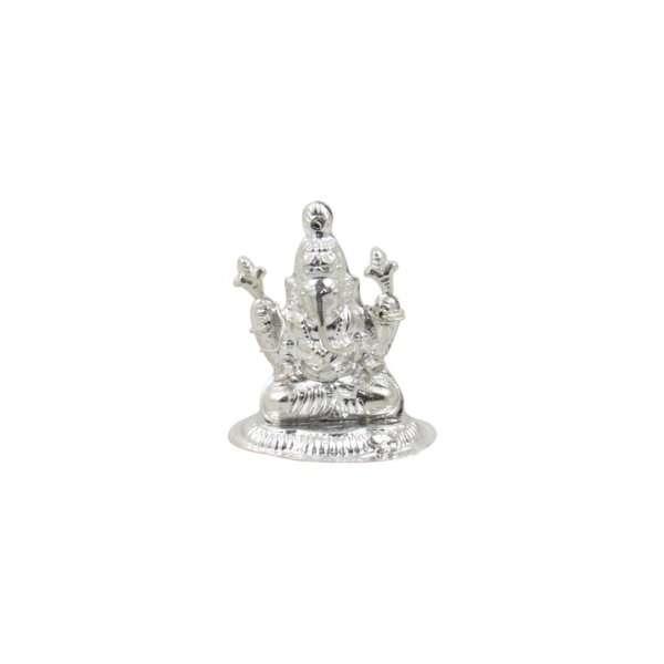 Pure silver Ganesh idol, pure silver Ganesh murti, pure silver Ganesha, pure silver Ganesh idol for gift, pure silver ganesh laxmi murti