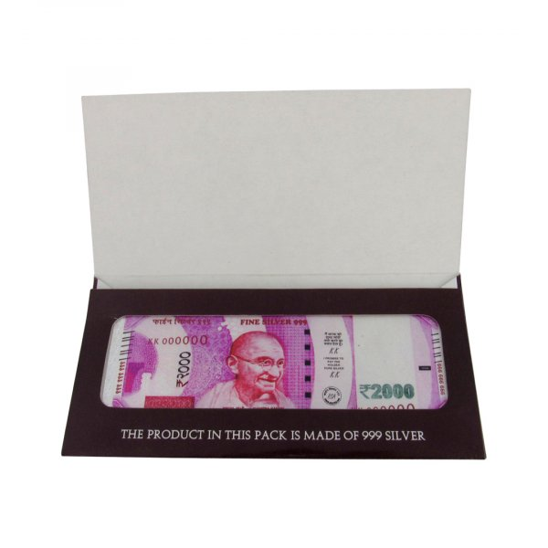 Silver currency Note, Silver currency Note with cover, Pure Silver currency note, silver 999 currency note, sterling silver currency note, silver currency note for gift, pure silver gift items, pure silver pooja items, pure silver gift items for housewarming, pure silver gift articles