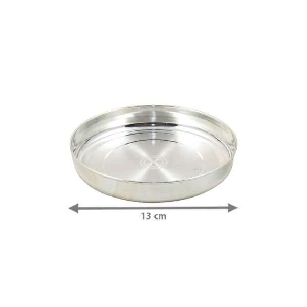 Pure silver pooja thali, pure silver pooja items, pure silver pooja plate, pure silver pooja set, pure silver pooja thali set