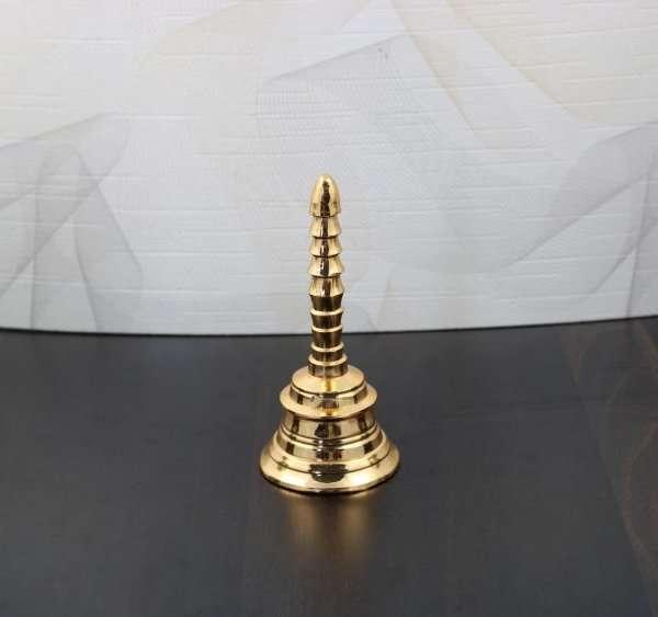 Brass pooja bells, brass bell for home, brass bell for temple, brass bell decoration, brass wall hanging bell
