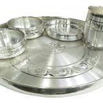 Pure silver dinner set, Pure silver dinner set for baby, Pure silver dinner plate, pure silver dining set, Pure silver dinnerware, silver dinner set, Silver dinner plate, silver dinnerware set, silver dinner plate set, silver dinner thali