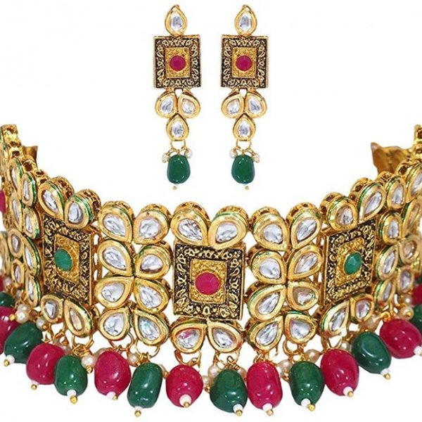 kundan pearl choker necklace kundhan pearl necklace set kundan necklace kundan necklace set kundan necklace for bride kundan necklace set for wedding traditional kundan choker necklace bridal kundan set indian kundan choker necklace kundan studded necklace set necklace for women necklace set for wedding party necklace set for women